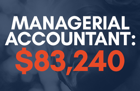 managerial accountant salary: $83,240