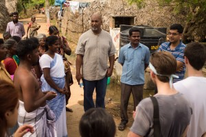 Students on a 2014-2015 trip to India learn from those living in subsistence environments.