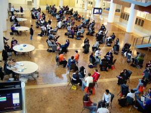 Student poverty simulation in BIF